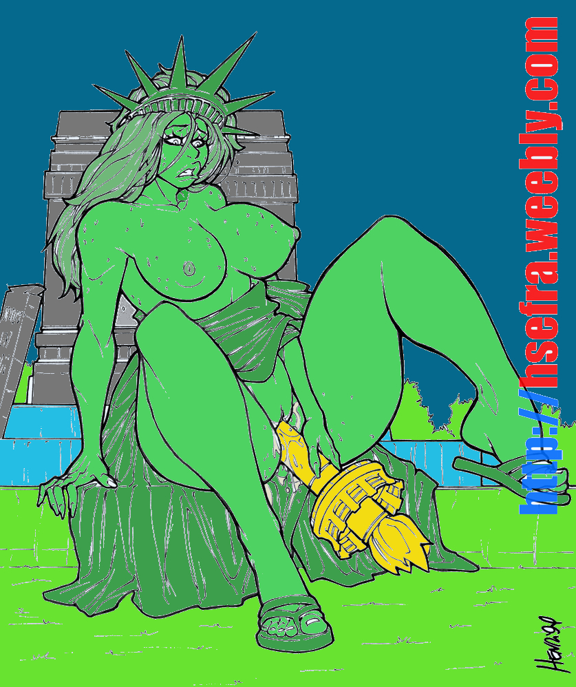 statue lady justice liberty of kissing Fate/kaleid liner prisma