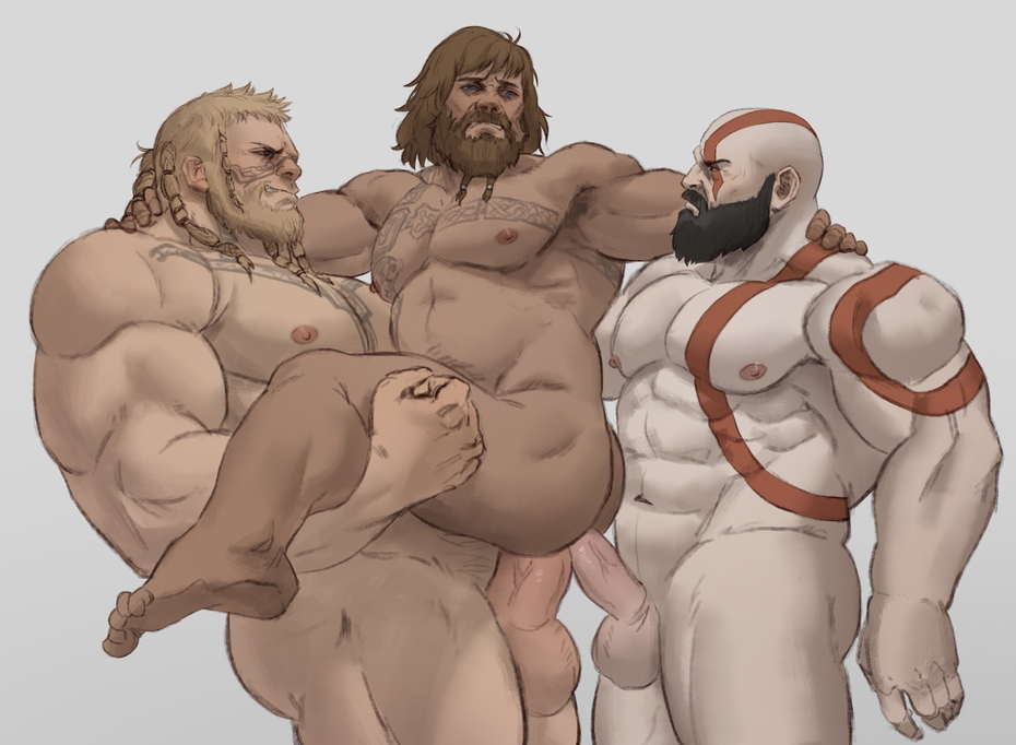 ascension of god war nude 2 dicks in one mouth