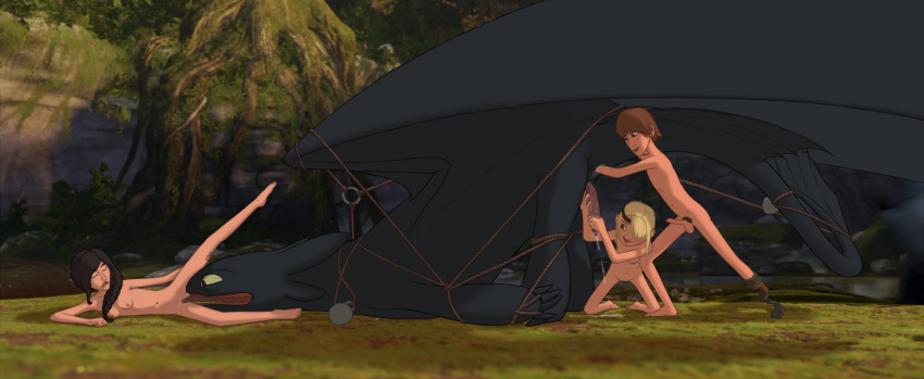 train dragon sex astrid your how to Animated male to female transformation
