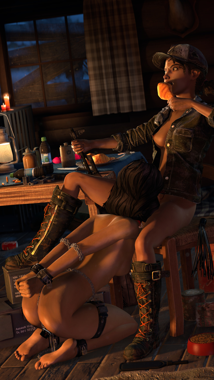twins the 2 dead rising Clash of clans queen porn