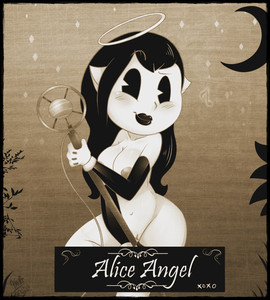 the porn bendy and angel machine ink alice Harem time: the animation