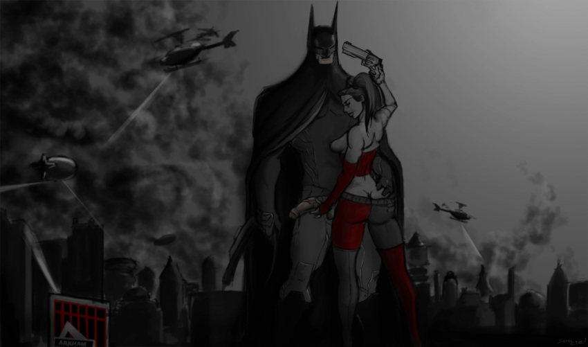 nude quinn city arkham harley Can t escape the heroine