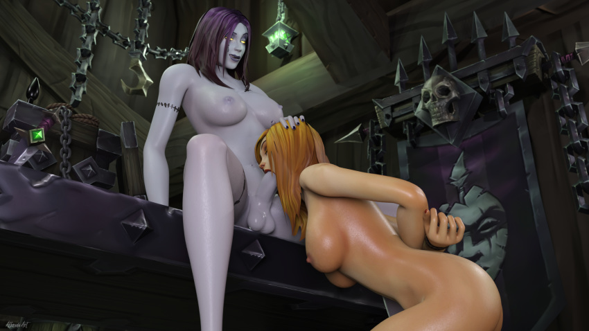 of warcraft world porn female orc Mass effect 3 liara pregnant